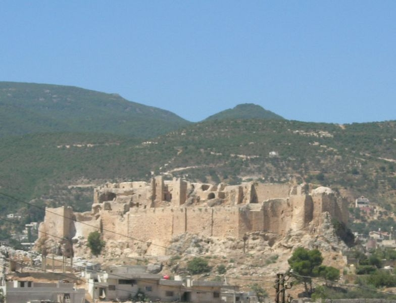 Masyaf Castle  in Syria - It was once the homeland of Assassins