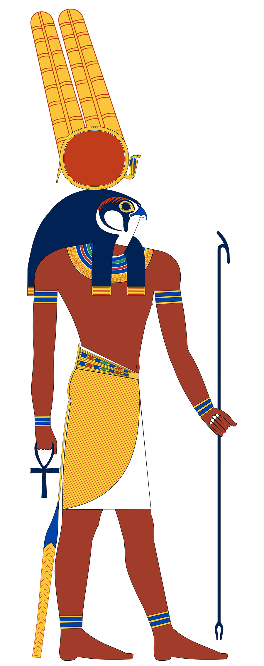 Egyptian war god Montu