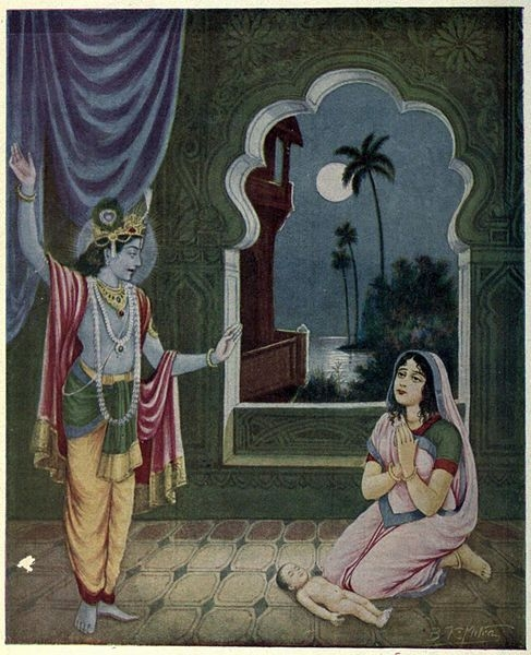 Due to Lord Krishna's endeavour, Parikshit's life is restored in his mother's womb & later he is born as a healthy boy