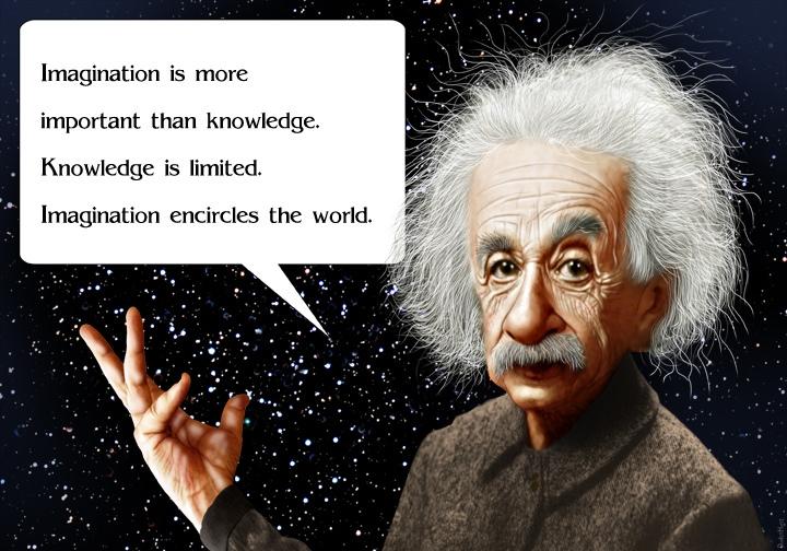 The famous quote of Einstein