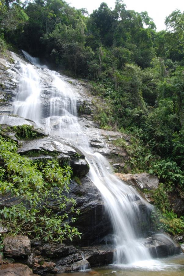 The Taunay Waterfall (Cascatinha de Taunay), Tijuca National Park, Rio de Janeiro