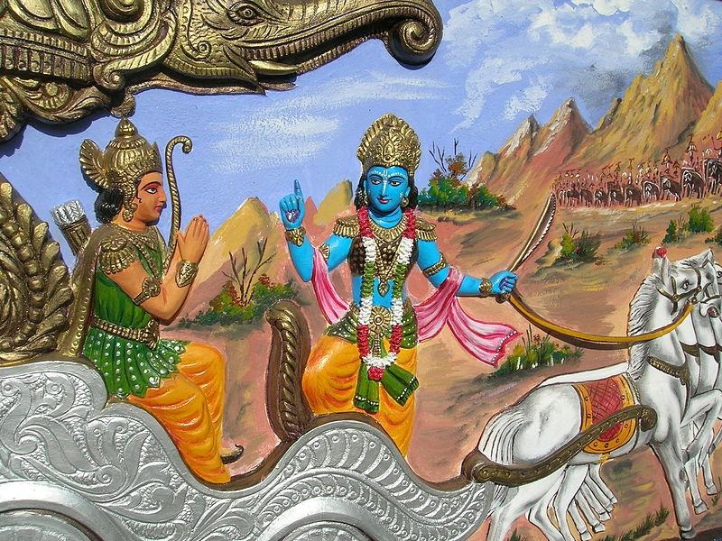 Bhagavata Gita advocates a meritocracy based caste system