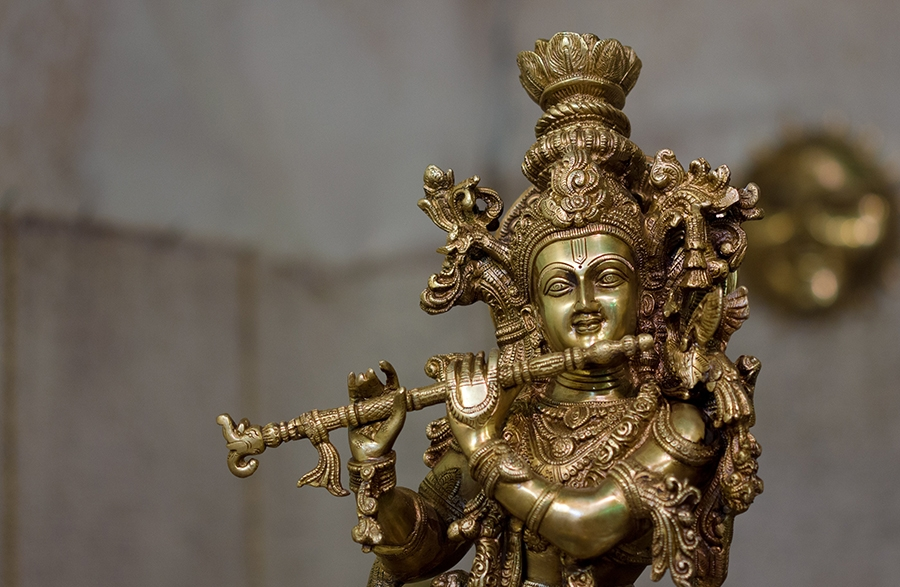 Gita, which describes the words of Lord Krishna, is  a benchmark for Hindu society.