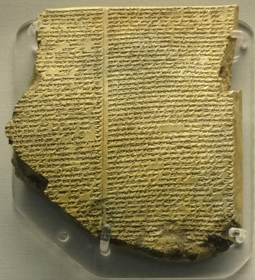Library of Ashurbanipal -The Flood Tablet