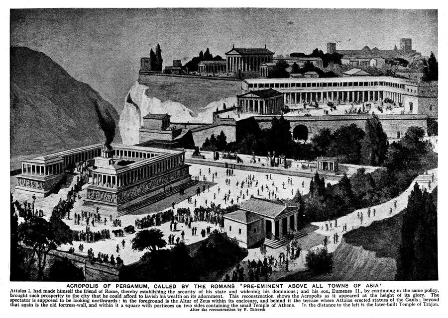 The Acropolis at Pergamum