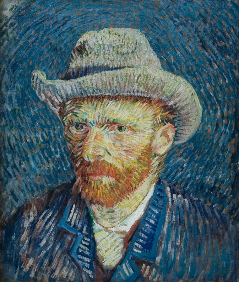 Vincent van Gogh (Self-portrait )