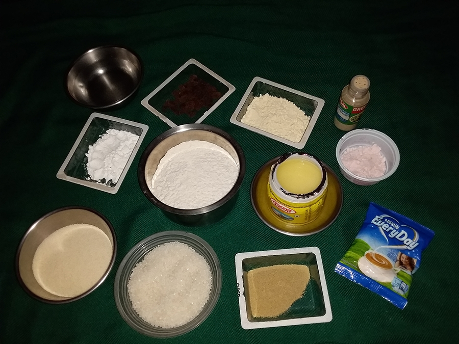 The Ingredients for making Malpua