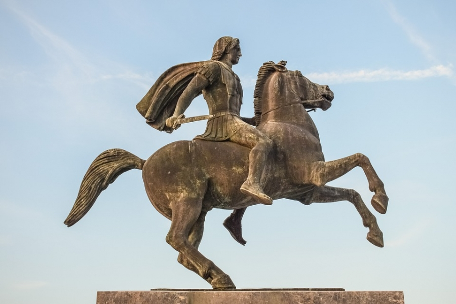 Alexander had teachers like Aristotle & inherited his father's kingdom- Genghis Khan started as a slave