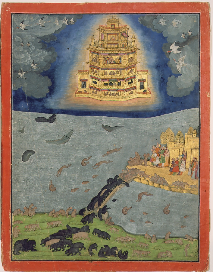 The Vimana of hindu epic - Ramayana