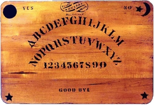 An Ouija Board