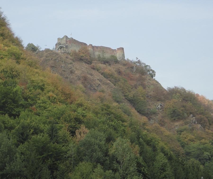 Poenari castle - Where Dracula Lived