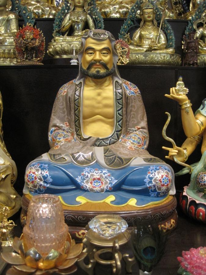 Statue of Bodhidharma
