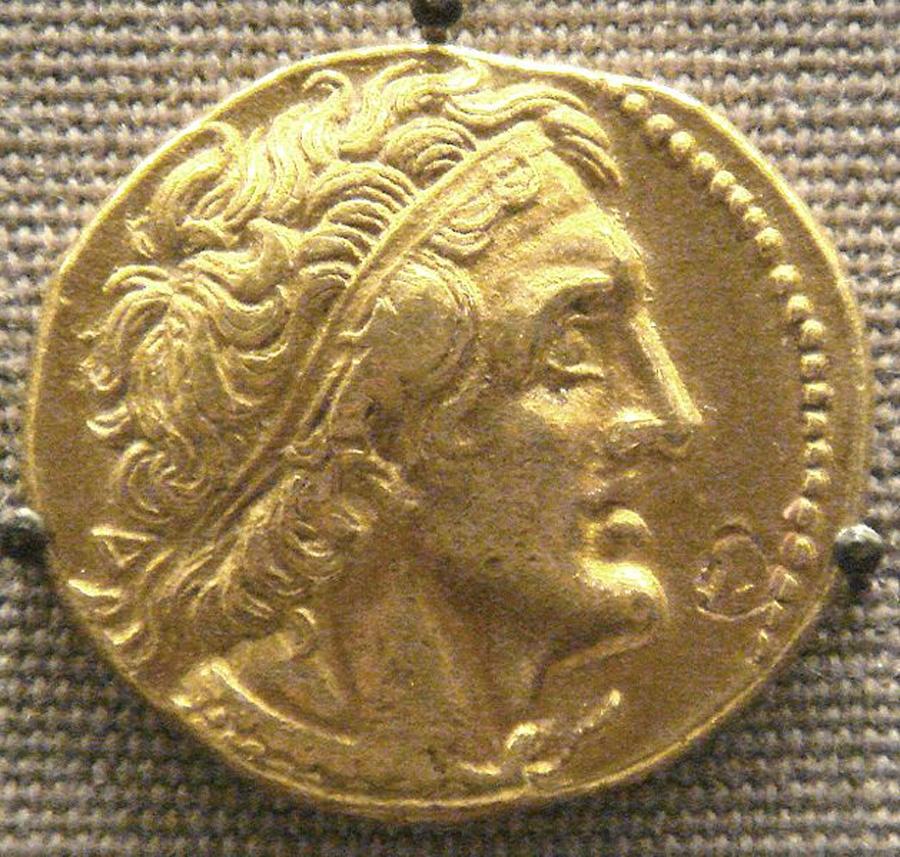 Ptolemy I -- creator of Library of Alexandria