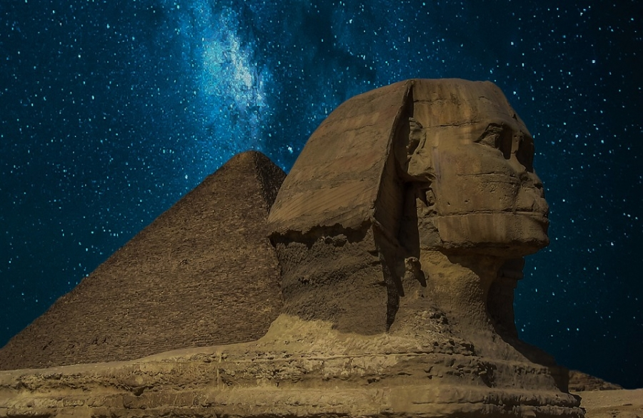 Hypothesis has been put forward that, Great Sphinx of Giza, was inspired by a person suffering from Lion Face Syndrome.