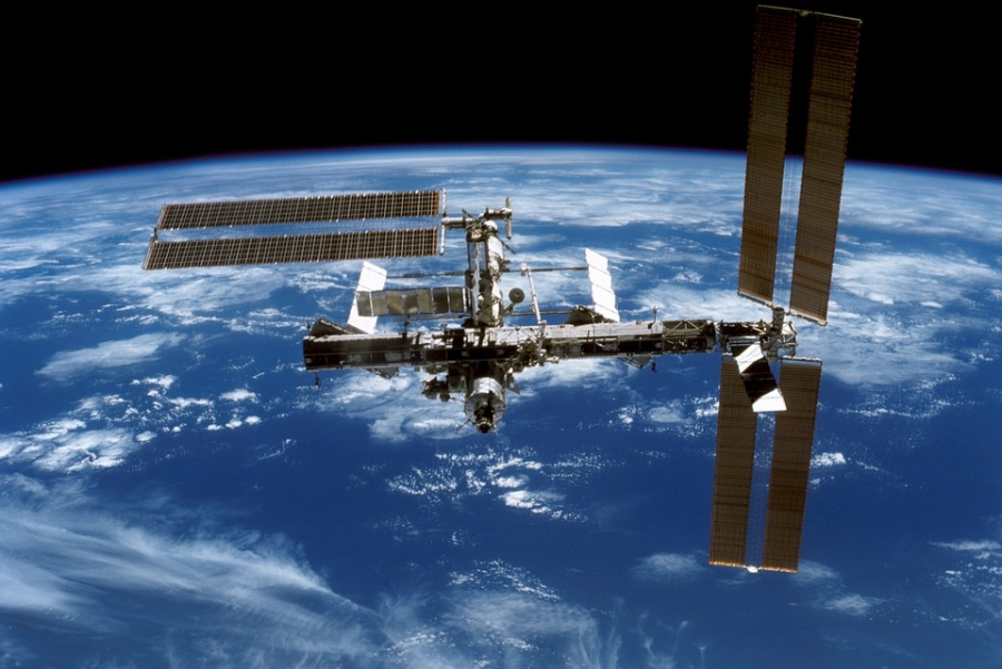 International space station contains -- The immortality drive