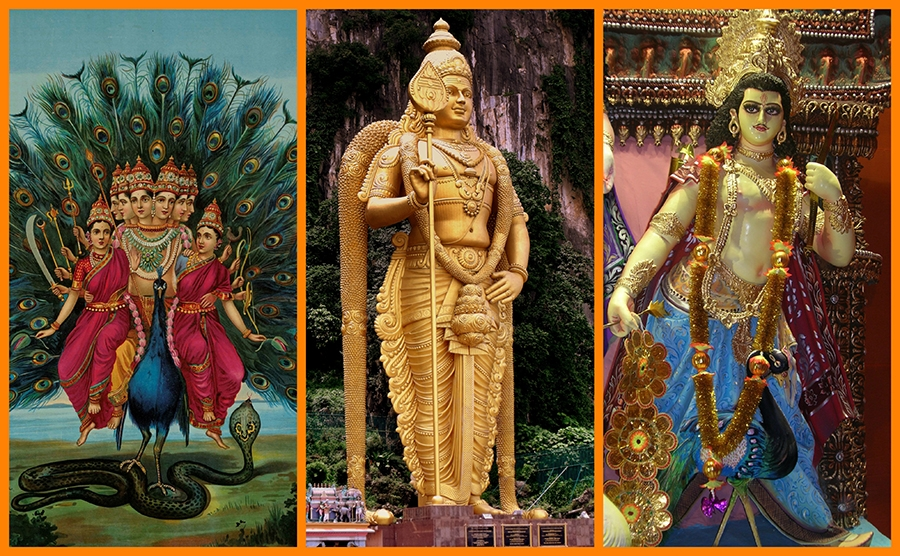 A collage of God-- Kartikeya