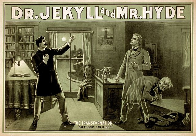 Strange Case of Dr Jekyll and Mr Hyde.