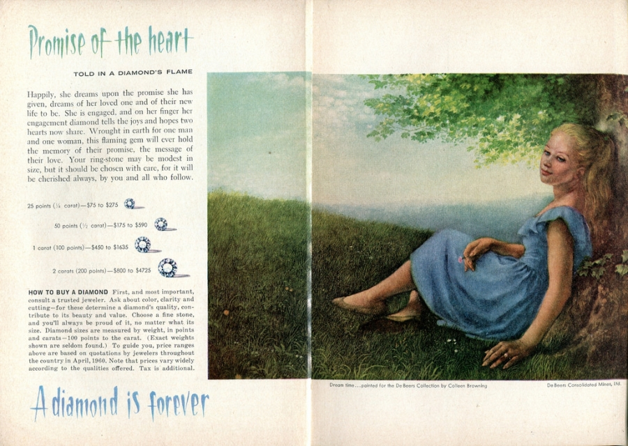A Diamond Advertisement of 20th century