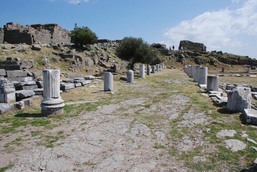 Ruins of Library of Pergamum