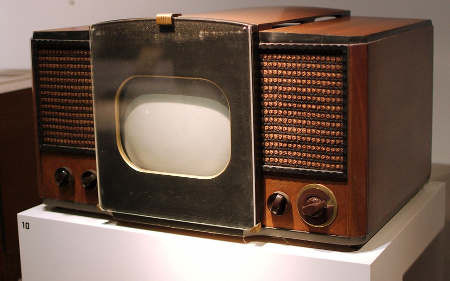 The first mass produced TV set  which was sold in 1946 and 1947.