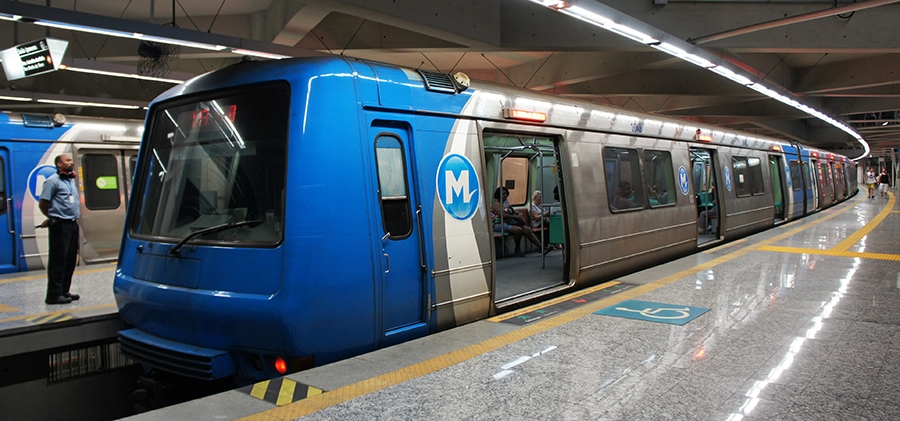 Metro in Rio