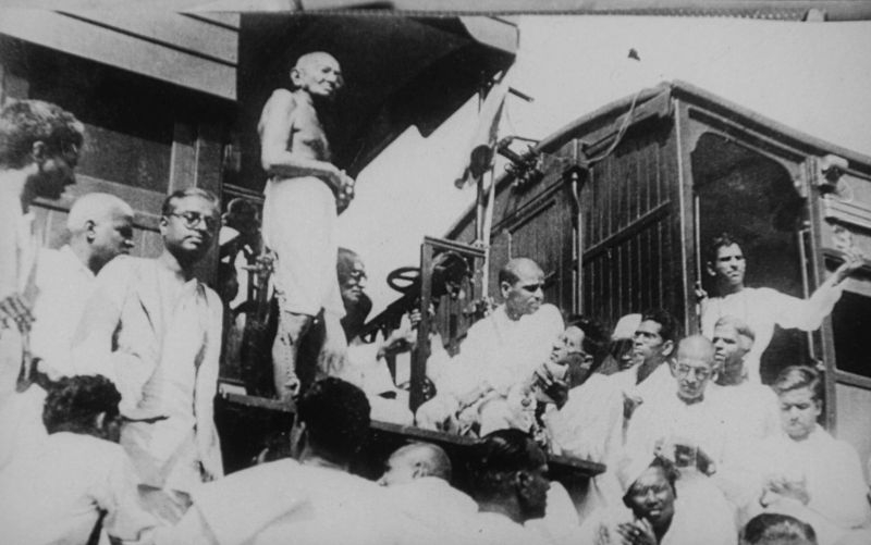 Mahatma Gandhi, undertook many tours & campaigns to stop caste based discrimination in early 20th century India.