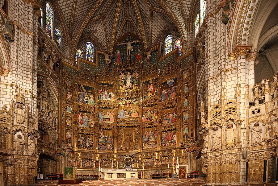 The churches are one of  the most beautiful places to visit