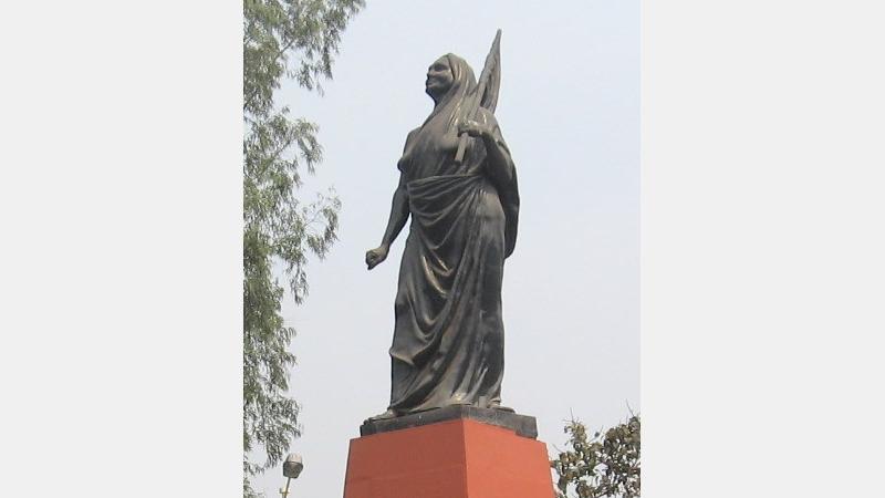 Statue of Matangini Hazra