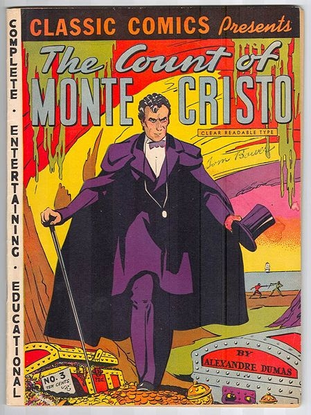 Cover of a  comic book  published in 1942