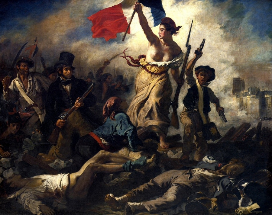 French revolution, which gave the world liberty,equality & fraternity