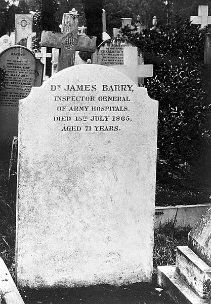 Dr. James Barry's headstone., Kensal Green Cemetery