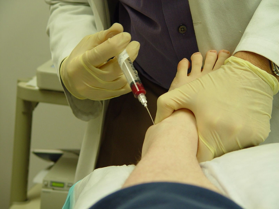 PRP injection (For injury in this case)