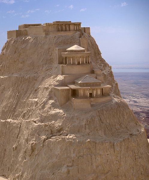 Masada fortress was the place, where the Sicarri rebels made their last stand